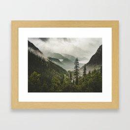 Valley of Forever Framed Art Print