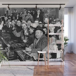 The Night Prohibition Ended Wall Mural