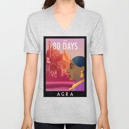 80 Days : Agra Unisex V-Neck