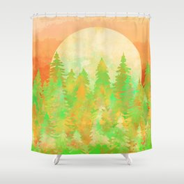 The Forest Moon Shower Curtain