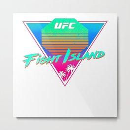 ufc fight island , cool, fight, island, ufc Metal Print