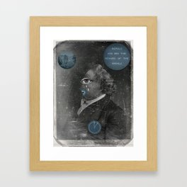 Behold and see the reward of the wicked Framed Art Print