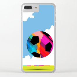 World Cup Soccer Clear iPhone Case