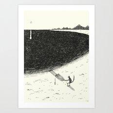 'Beach' Art Print