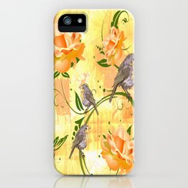 The Sparrow's Melody iPhone Case
