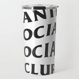 Anti social club Travel Mug