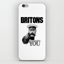Britons Your Country Needs You - Lord Kitchener iPhone Skin