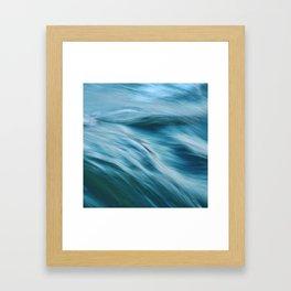 Ocean beneath you Framed Art Print