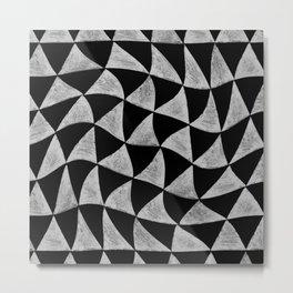 distorted Metal Print