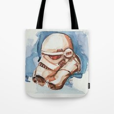 Storm trooper water color FAnart Tote Bag