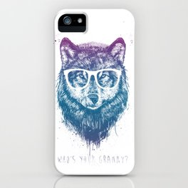 Who's your granny? iPhone Case