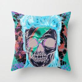 The Prettiest Skull Throw Pillow