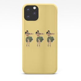 Hula Girls Hula Girl Dancing the Hula - Sand iPhone Case