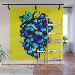 Colored Grape Wall Mural