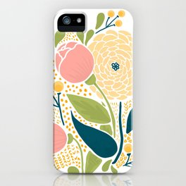 bouquet of a flowers iPhone Case