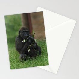 Cheeky Gorilla Lope Stationery Cards