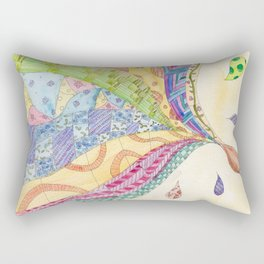 The Painted Quilt Rectangular Pillow
