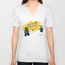LEGO VANDAL Unisex V-Neck