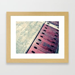 Airplane Hangar Floor 2 Framed Art Print