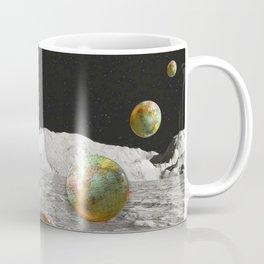 Moon Shot #collage Coffee Mug