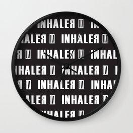 INhaler typo x1 Wall Clock