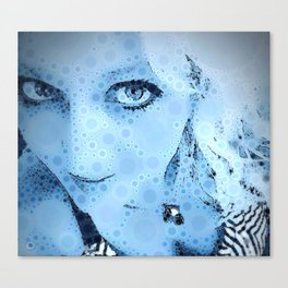 """""""Blue for You"""" - RendereD! POP! Art Print Canvas Print"""