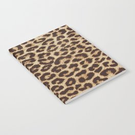 Leopard Print Notebook