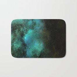 Painting Under UV Spectrum, Unique Blend Of Colors, Original Contemporary Artwork, Copper Bath Mat