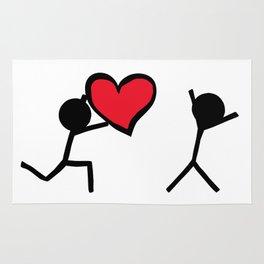 I love you by Oliver Henggeler Rug