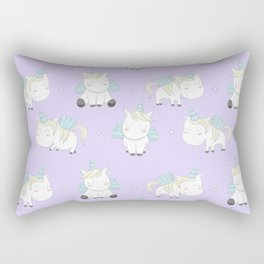 Pegacorn - Purple Rectangular Pillow