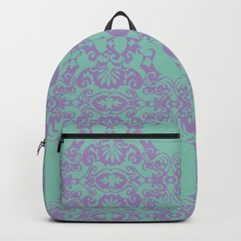 Turkise Ornament Backpack