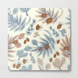 Winter floral Metal Print