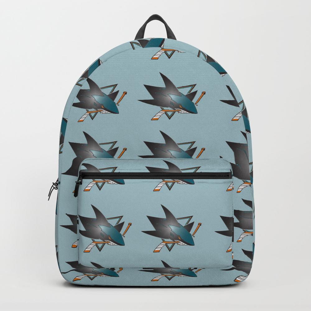 Sanjose Sharks Logo Backpack by Tatastory13 BKP7707389