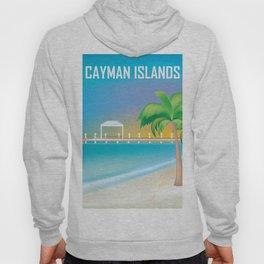Cayman Islands - Skyline Illustration by Loose Petals Hoody
