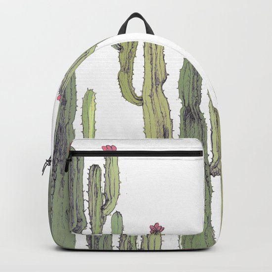 cactus in nature Backpack