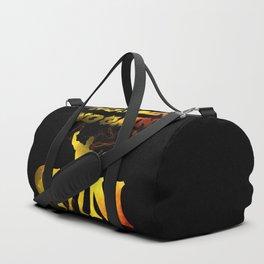 gym muscle no pain no gain Duffle Bag