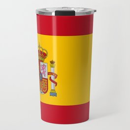 Flag of spain-spain,flag,flag of spain,espana,spanish,espanol,Castellano,Madrid,Barcelona, Travel Mug