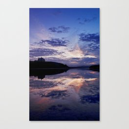 Sunrise over Waterton Lakes National Park and The Prince of Wales Hotel .2 Canvas Print