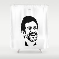 marc Shower Curtains featuring Marc Jacobs by Joannes