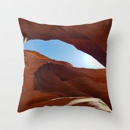 Antelope  Canyon  #11 Throw Pillow