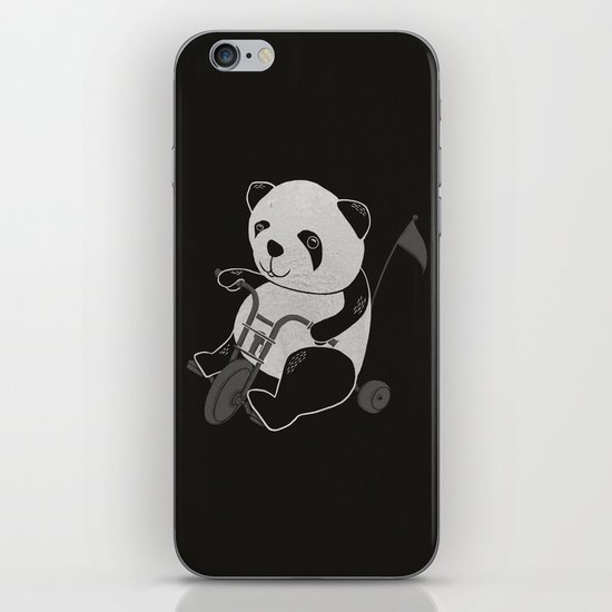 Let's Bicycling  iPhone & iPod Skin