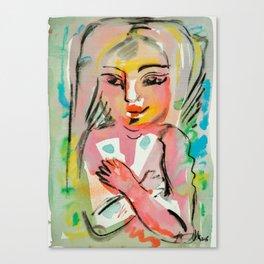Yearning - Naive Canvas Print