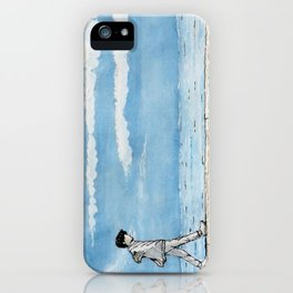 ocean stroll iPhone Case