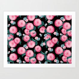 Spring Floral Dream #4 #decor #art #society6 Art Print