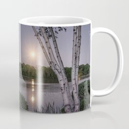 Niles Pond Moon Rise Coffee Mug