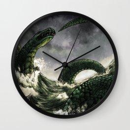 The Midgard Serpent Wall Clock