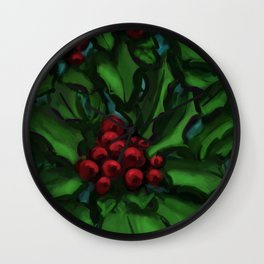 Holly DP160229a Wall Clock