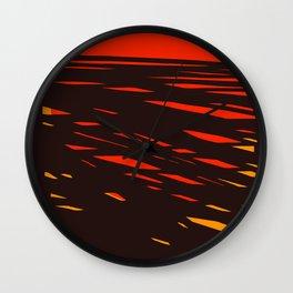 Sol del Desierto Wall Clock