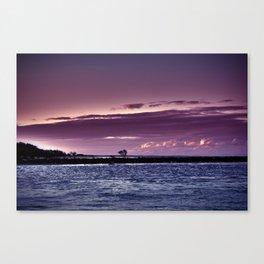 Purple Horizon Canvas Print