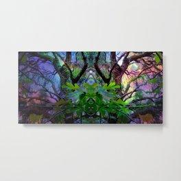 Enchanted Fig Tree Metal Print